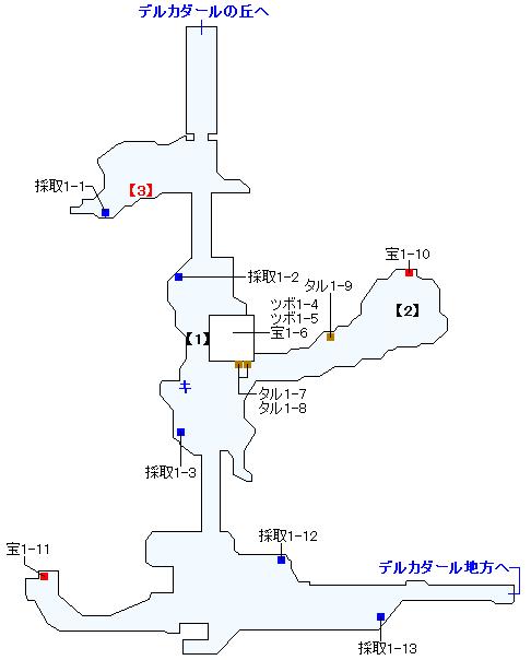 Switch版(2D)&3DS版(2D)ストーリー攻略マップ・ナプガーナ密林