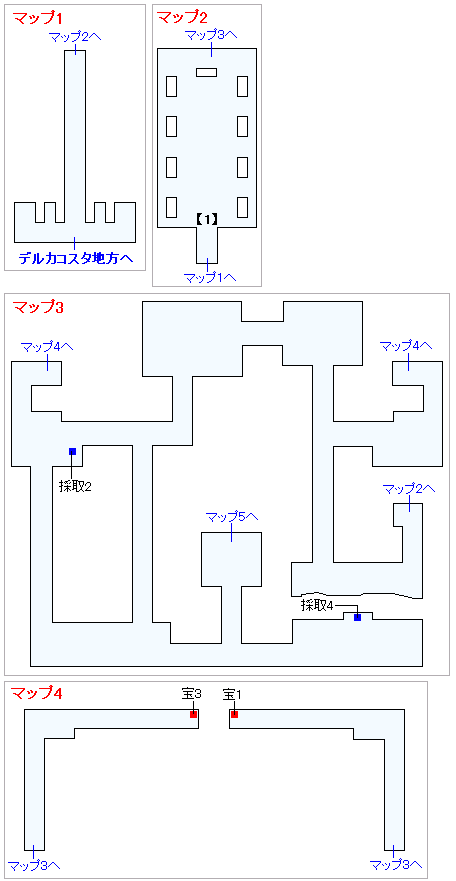 Switch版(2D)&3DS版(2D)ストーリー攻略マップ・デルカダール神殿(1)