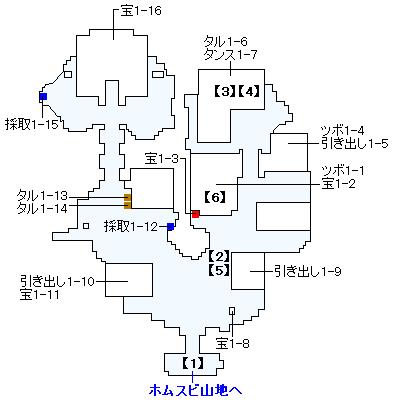 Switch版(2D)&3DS版(2D)ストーリー攻略マップ・ホムラの里
