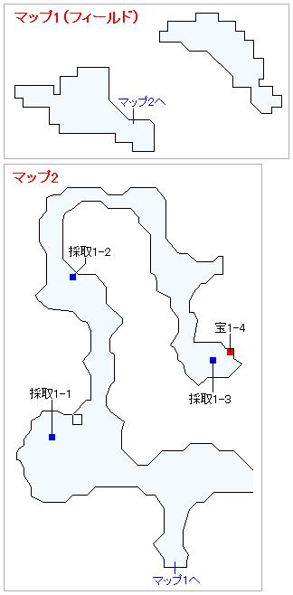 3DS版(2D)ストーリー攻略マップ・南西の孤島