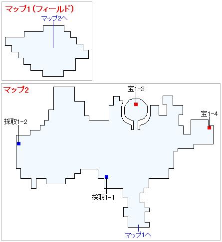 3DS版(2D)ストーリー攻略マップ・ユグノア・入り江の島
