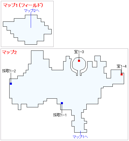 Switch版(2D)&3DS版(2D)ストーリー攻略マップ・ユグノア・入り江の島