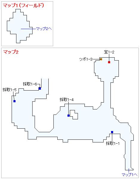 Switch版(2D)&3DS版(2D)ストーリー攻略マップ・バンデルフォン東の島