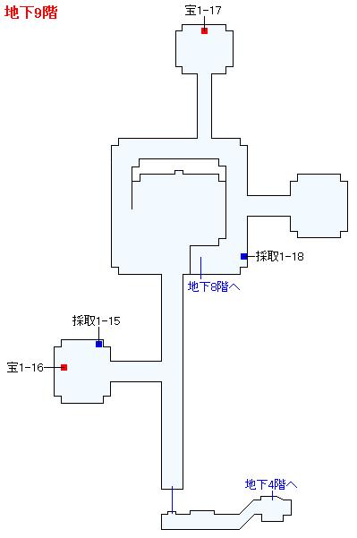 3DS版(2D)ストーリー攻略マップ・天空の古戦場(6)
