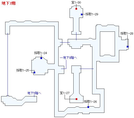 3DS版(2D)ストーリー攻略マップ・天空の古戦場(8)