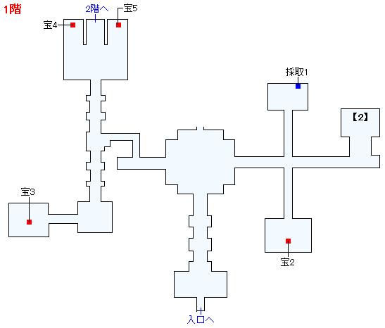 Switch版(2D)&3DS版(2D)ストーリー攻略マップ・天空魔城(2)