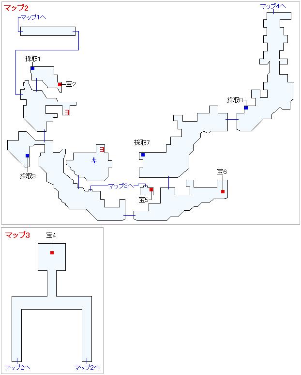 Switch版(2D)&3DS版(2D)ストーリー攻略マップ・始祖の森(2)