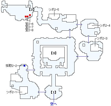 Switch版(2D)&3DS版(2D)ストーリー攻略マップ・神の民の里