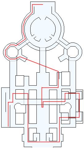3DS版(3D)ストーリー攻略マップ・ダーハルーネの町(1)