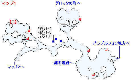 3DS版(3D)ストーリー攻略マップ・ユグノア地方