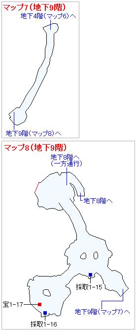 3DS版(3D)ストーリー攻略マップ・天空の古戦場(6)