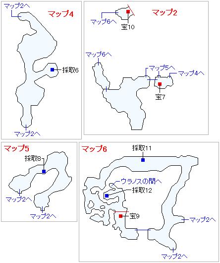 3DS版(3D)ストーリー攻略マップ・導師の試練・天啓の谷(2)