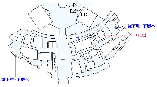 PS4版のストーリー攻略マップ・デルカダール城下町(1)