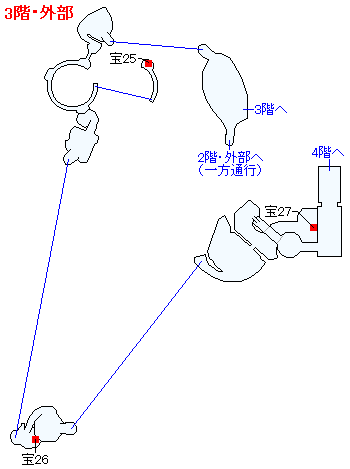 Switch(3D)&PS4版のストーリー攻略マップ・天空魔城(6)