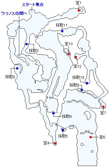 Switch(3D)&PS4版ストーリー攻略マップ・天啓の谷(1)