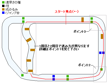 シルバー杯マップ(3DS版)