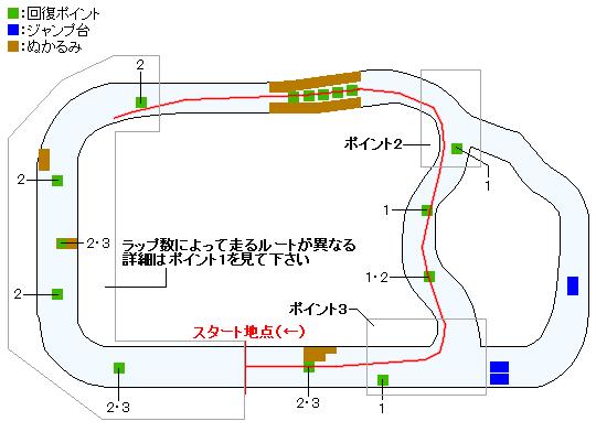 シルバー杯マップ(Switch&PS4版)
