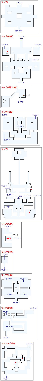 天馬の塔(VI:幻の大地の祭壇)のマップ画像