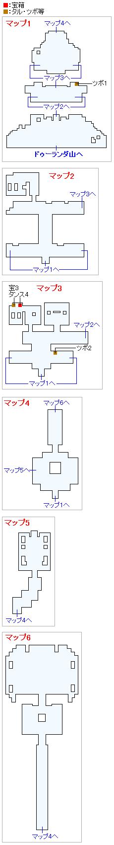 ドゥルダ郷(Swith2Dと3DS2D)のマップ画像