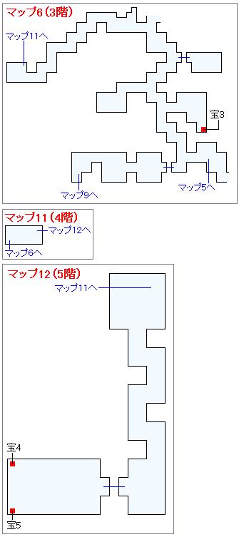 冒険の書の世界攻略マップ・ロンダルキアへの洞くつ(3)