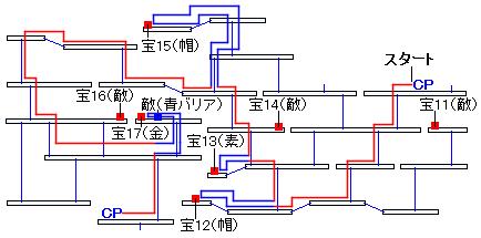 時渡りの迷宮・6階層の進み方(4)