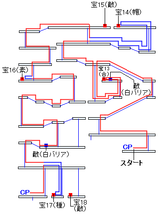 時渡りの迷宮・7階層の進み方(4)
