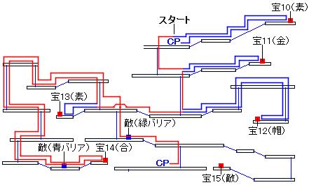 時渡りの迷宮・9階層の進み方(5)