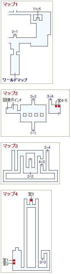 ストーリー攻略マップ・サスーン城(1)