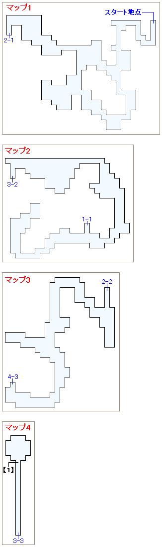 ストーリー攻略マップ・魔法陣の洞窟