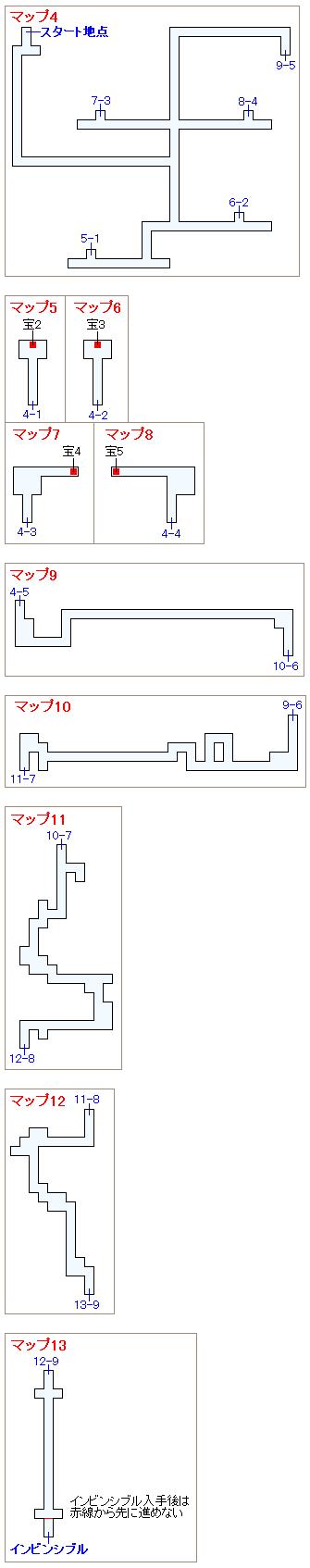 ストーリー攻略マップ・古代遺跡(2)