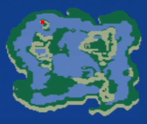 炎の洞窟の場所