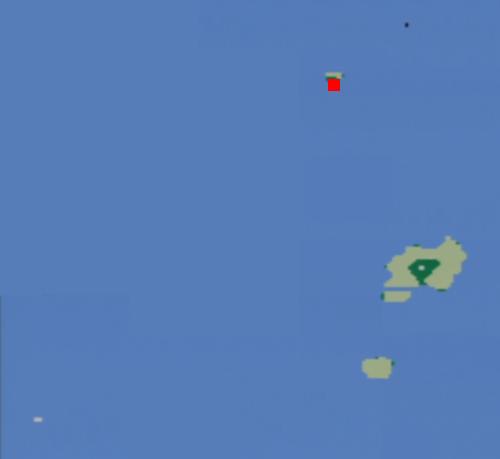 難破船の場所