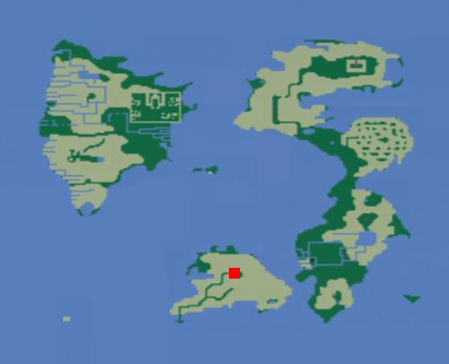 魔法陣の洞窟の場所