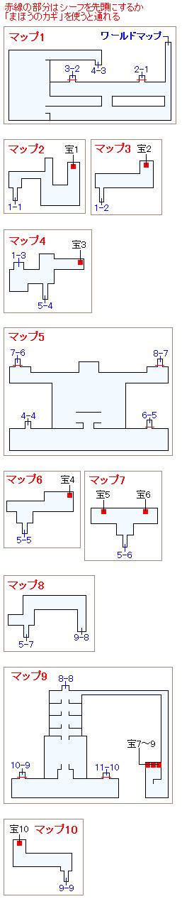 ストーリー攻略マップ・時の神殿(1)