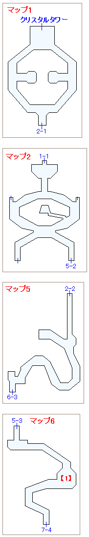 ストーリー攻略マップ・禁断の地エウレカ(3)