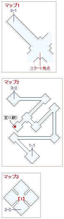 ストーリー攻略マップ・闇の世界(1)