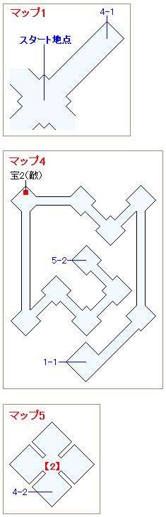 ストーリー攻略マップ・闇の世界(2)