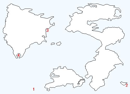 地上世界の海底のマップ画像