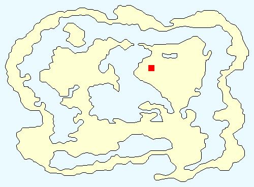 サスーン城の場所