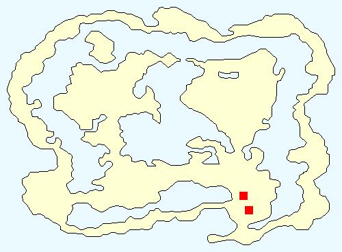 バハムートの洞窟の場所