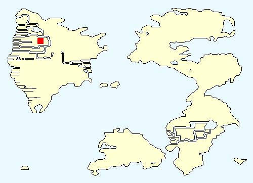 古代遺跡の場所