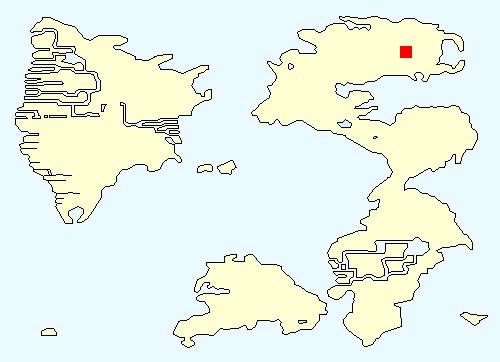 古代の民の迷宮の場所