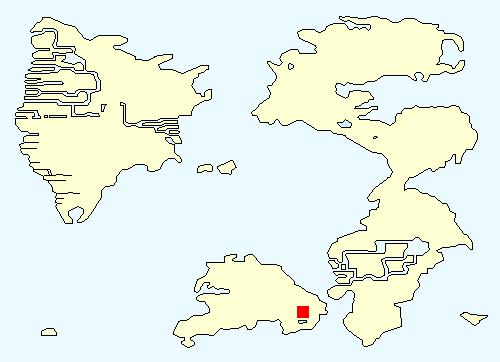ドーガの村の場所
