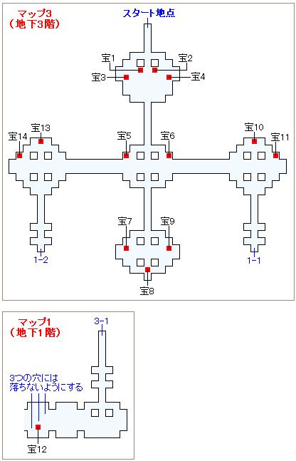 ストーリー攻略マップ・ロンカの心臓(1)