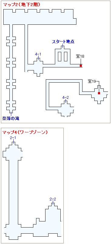 ストーリー攻略マップ・ロンカの心臓(3)