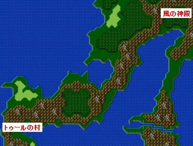 ストーリー攻略マップ・ワールドマップ