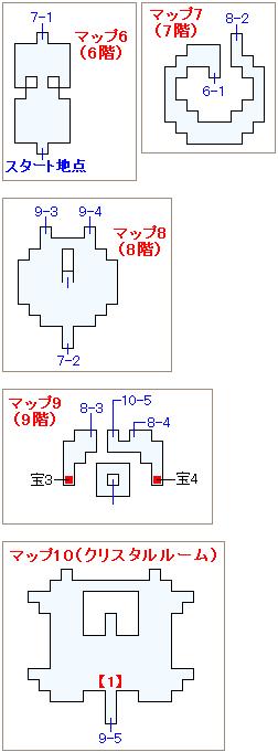 ストーリー攻略マップ・ウォルスの塔(2)