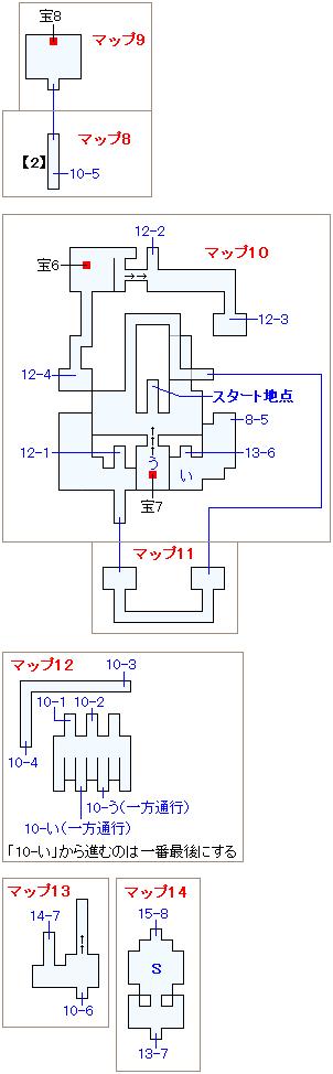 ストーリー攻略マップ・火力船(3)