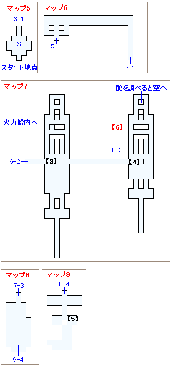 ストーリー攻略マップ・カタパルト(2)