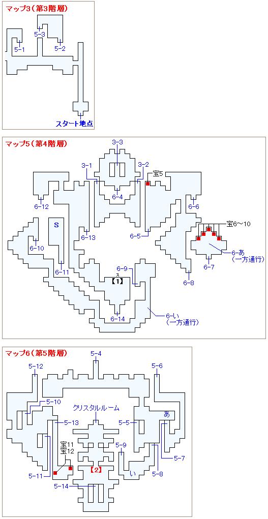 ストーリー攻略マップ・ロンカ遺跡(2)